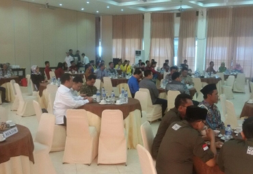 Coffee morning di Hotel Horizon Kota Bengkulu, Minggu (18/03/2018)