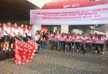 Gowes Merdeka PT Astra International
