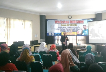 Workshop Motistory Kampung Dongeng
